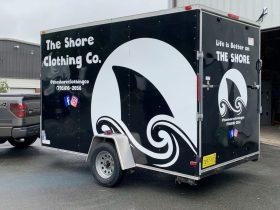 Shore Clothing trailer